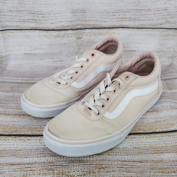 Vans Shoes | Faded Pink Size 85 | Poshmark